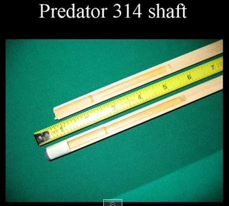 Predator 314 shaft