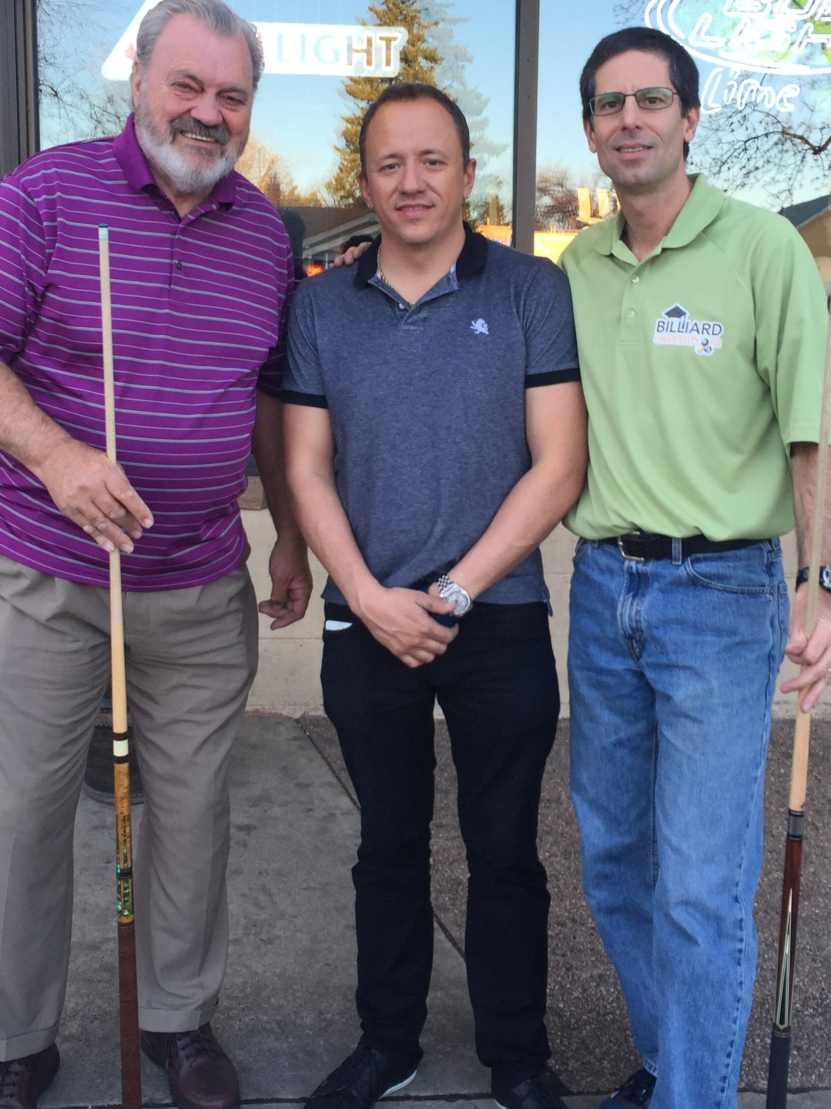 Mike Massey, Shane VanBoening, and Dr. Dave