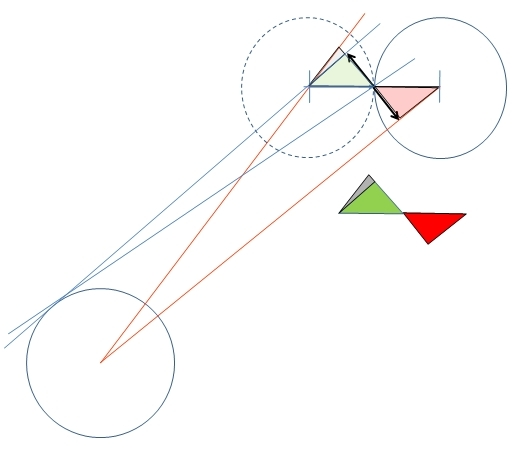 double=the-distance illustration